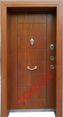 Luxury Coated Steel Door